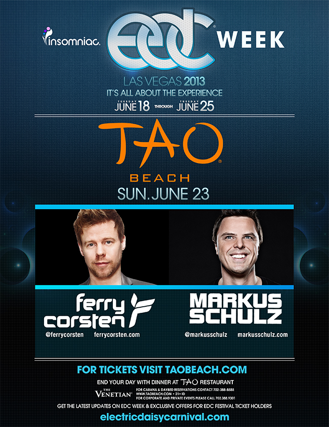 New World Punx June 23 Ferry Corsten Markus Schulz