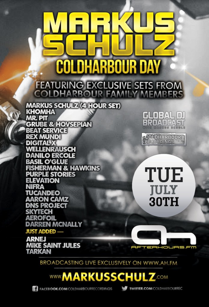 Coldharbour Day 2013 Poster Afterhours.FM_Coldharbour_Day_30-07-2013