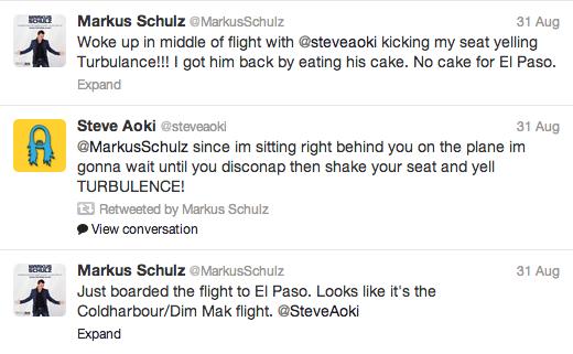 Steve Aoki Markus Schulz El Pas Flight Fun