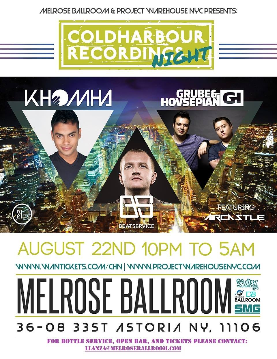 Coldharbour Night NYC